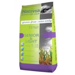 Nativia Dog Senior&Light 15kg