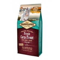 Carnilove Cat Fresh Carp &...