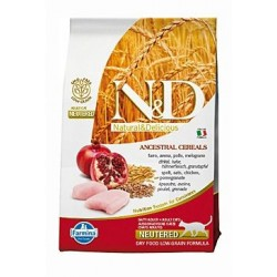 N&D LG CAT Neutered Chicken...